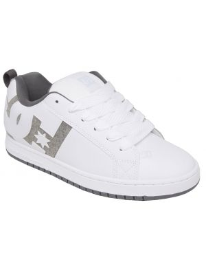 Boty DC Court Graffik White/Heather Grey