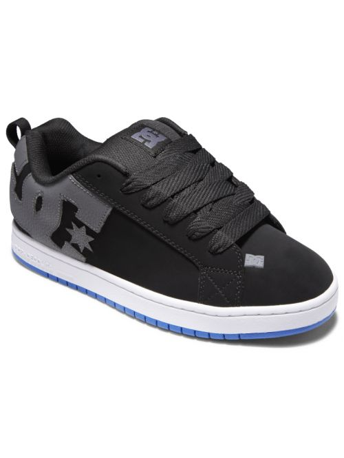 Boty DC Court Graffik black/grey/blue