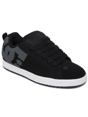 Boty DC Court Graffik black grey white
