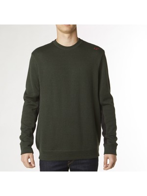 Pánský svetr Fox Twisted Crew Fleece twilight/cashmere blue