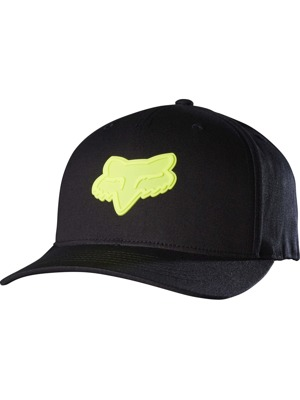 Kšiltovka Fox Emergency 110 Snapback black/yellow