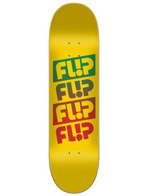 Skate deska Flip Team Quattro Faded yellow