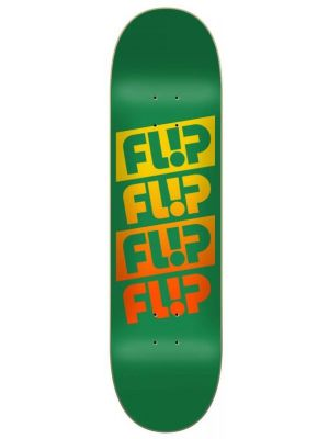 Skate deska Flip Team Quattro Faded green
