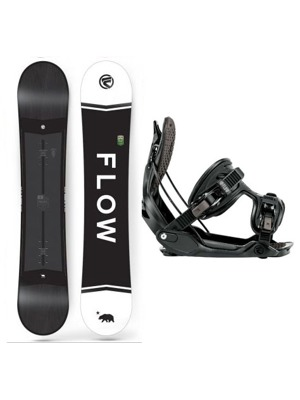 Snowboard set Flow Merc black 17/18