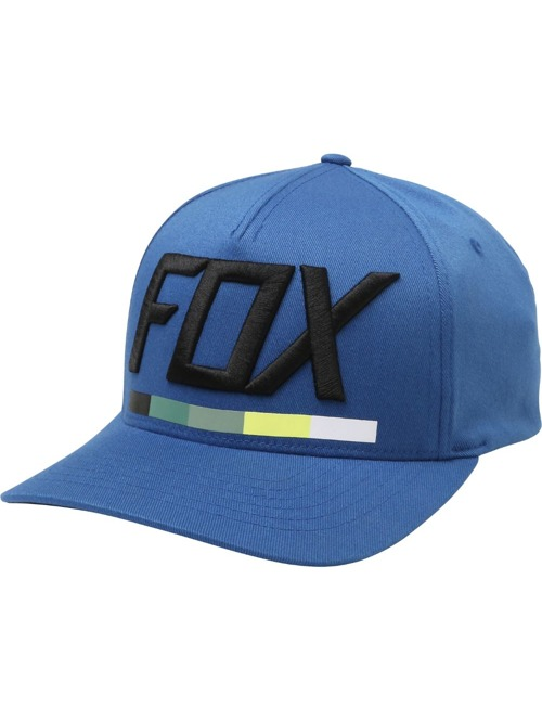 Kšiltovka Fox Draftr Flexfit dusty blue