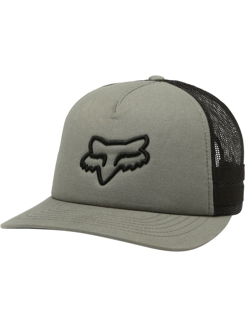 f77a4d238e9 Kšiltovka Fox Head Trik Trucker Fatigue green