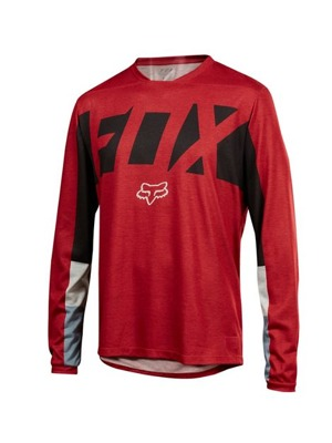 Dres Fox Indicator L/S Jersey Drafter Dark Red