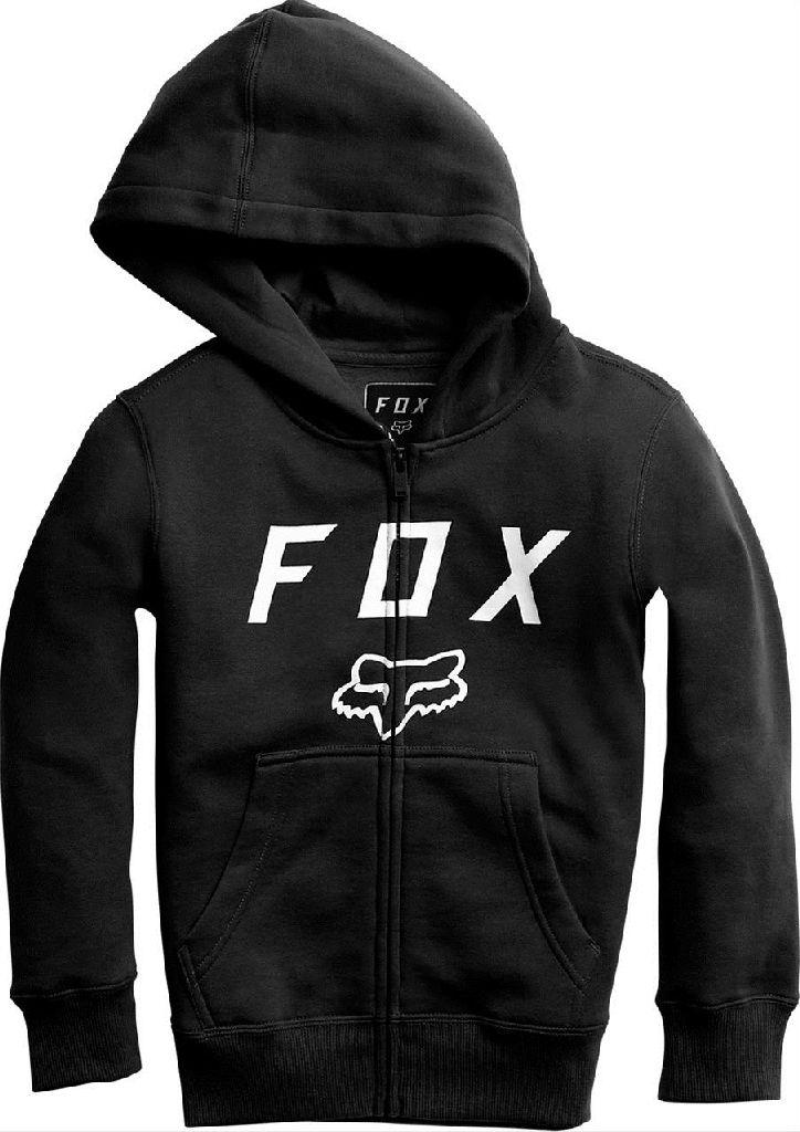 Dětská mikina Fox Legacy Moth Zip black  011805aa36