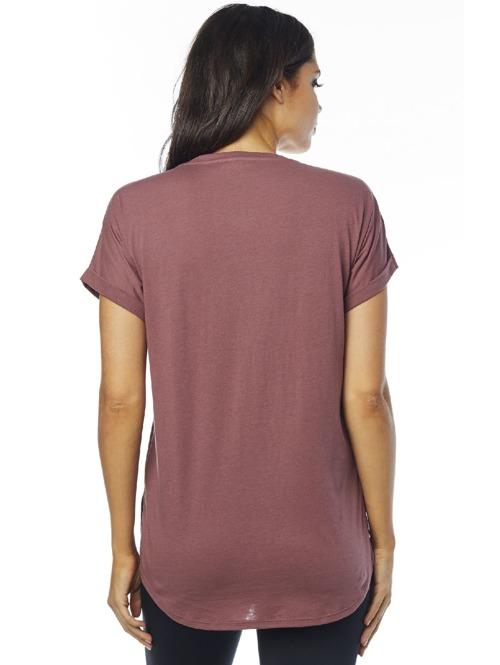 d2562db108 Dámské tričko Fox Responded Vneck rose