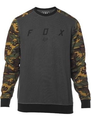 Pánská mikina Fox Destrakt Crew camo d898206a5ed