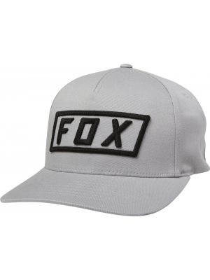 Kšiltovka Fox Boxer Flexfit steel grey