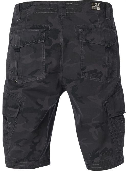 ef696277c28 Šortky Fox Slambozo Cargo Short Black Camo