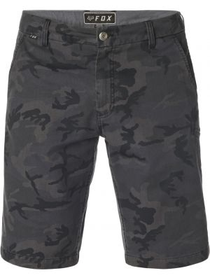 Šortky Fox Essex Short Black Camor