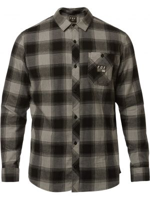 Košile Fox Longview Flannel heather graphite