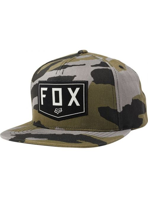 Kšiltovka Fox Shield Snapback Camo