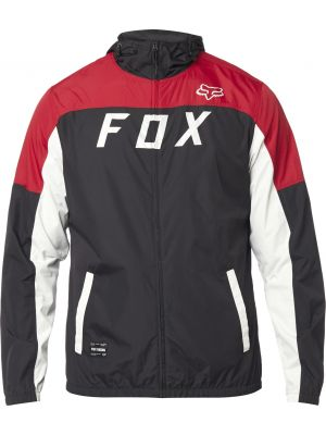 Bunda Fox Moth Windbreaker Black/Red
