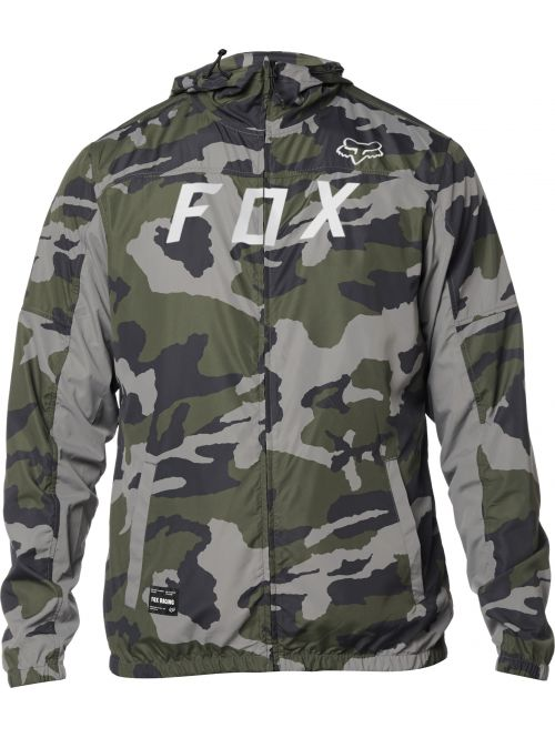 Bunda Fox Moth Camo Windbreaker Camo