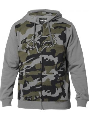 Mikina Fox Destrakt Camo Zip Grey Camo