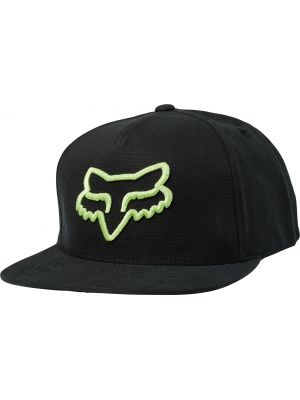 Kšiltovka Fox Instill Snapback Hat black/green