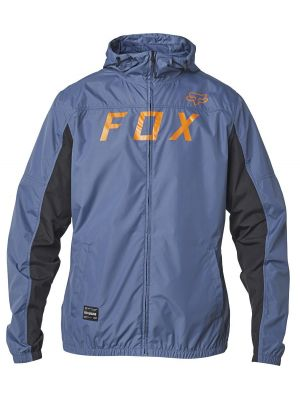 Bunda Fox Moth Windbreaker Blue