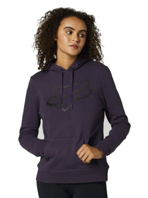 Mikina Fox Boundary Pullover Fleece dark purple