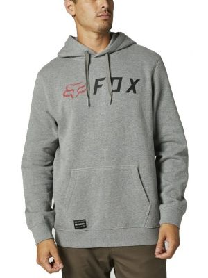 Mikina Fox Apex Pullover Fleece heather graphite