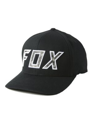 Kšiltovka Fox Down N Dirty Flexfit Hat black/white