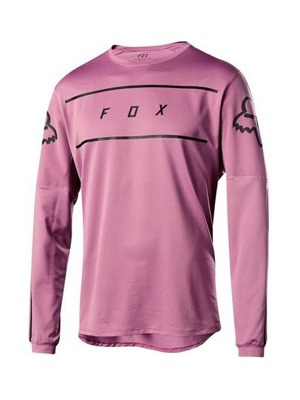Cyklo dres Fox Flexair L/S Fine Line Jersey Purple Hz