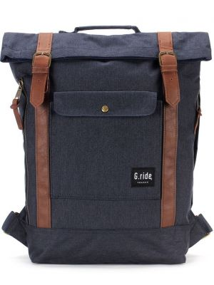 Batoh G.ride Balthazar navy blue jean 15l