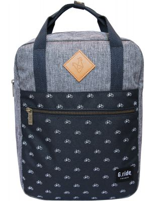 Batoh G.ride Diane denim and navy 8l