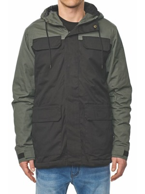 Zimní bunda Globe Goodstock Blocked Parka black