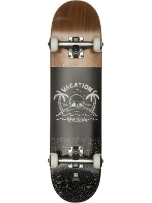Skateboard Globe Por Vida Mid Brown Black 7.6