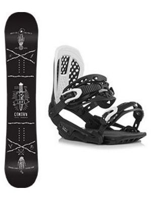 Snowboard set Gravity Contra 18/19