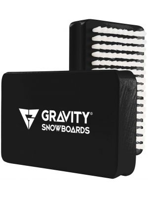Kartáč Gravity Wax Brush black/white 18/19