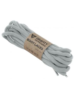 Tkaničky Gravity Boot Laces light grey