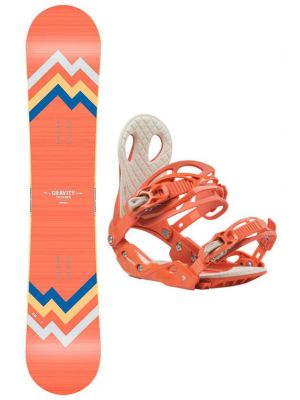 Snowboard set Gravity Thunder 19/20