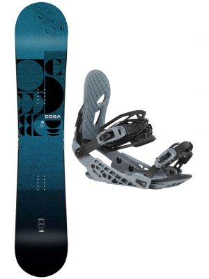 Snowboard set Gravity Cosa 20/21
