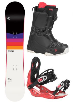 Snowboard komplet Gravity Electra 20/21