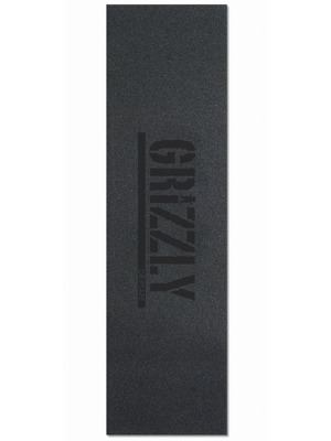 Grip Grizzly Stamp Print black