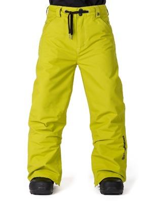 587e5a246175 Dětské snowboardové kalhoty Horsefeathers Cheviot citronelle