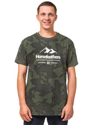 de66e579010 Pánské tričko Horsefeathers Hills cloud camo