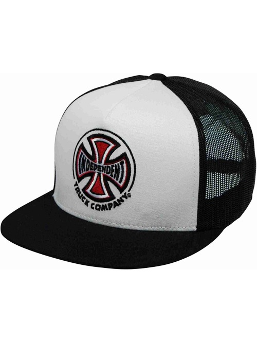 Kšiltovka Independent Truck Co Mesh white/ black
