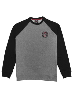 Pánská mikina Independent TC Raglan black/dark/heather