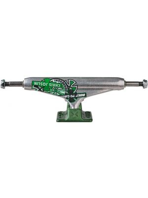 truck Independent Forged Hollow Chris Joslin silver green