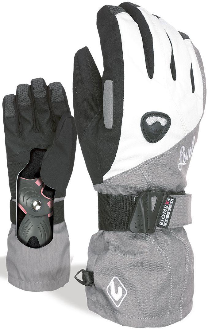 f7458a5d6b Dámské rukavice Level Butterfly silver