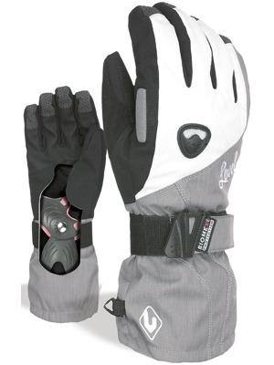 Dámské rukavice Level Butterfly silver 3756cac3ef