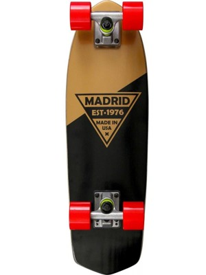 Cruiser Madrid Party Gold Metalic Logo