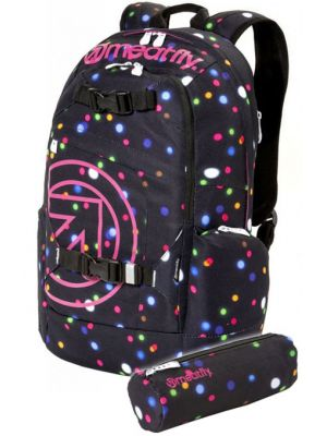 Batoh Meatfly Basejumper lights neon 20l