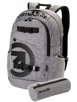 Batoh Meatfly Basejumper heather grey 20l