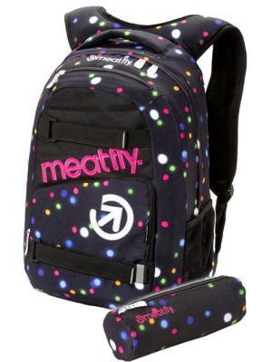 Batoh Meatfly Exile 3 lights neon 22l